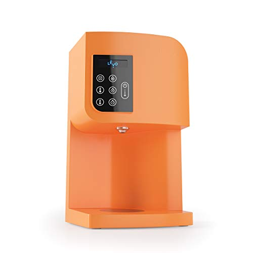 LEVO I - Small Batch Oil and Butter Herbal Infusion Machine - Precise Time and Temperature Controls For Easy and Mess-Free Homemade Infusions - Dishwasher Safe Components - Basalt