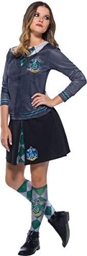 Rubie's 39026NS Slytherin Kostüm, Mädchen, Mehrfarbig