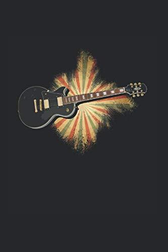 Gitarre Musik Songtexte Notizen: Musikbuch Notizbuch A5 120 Seiten liniert