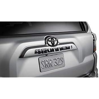 Genuine Toyota Parts - Emblem Black 4Runner (PT948-89180-02)