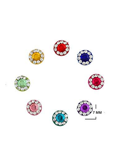 Richie Rich Multi Colour Bindi For Women Bindis For Ladies...