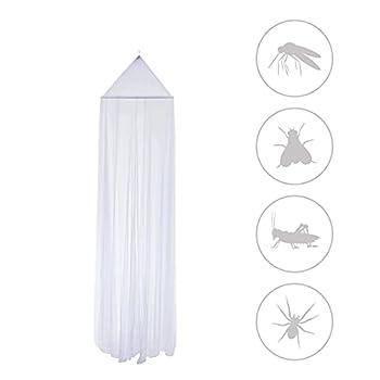 Zoomyo Moustiquaire pour intérieur et extérieur, protection contre les insectes, moustiquaire facile à accrocher sous le plafond ou une branche, moustiquaire pour la maison et les voyages