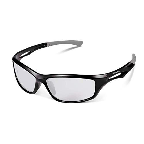 Gafas Ciclismo Fotocromaticas Modelo Ordesa, en la Segunda Foto se Puede apreciar el Tono Real [ 0% - 40% ], Talla M y L