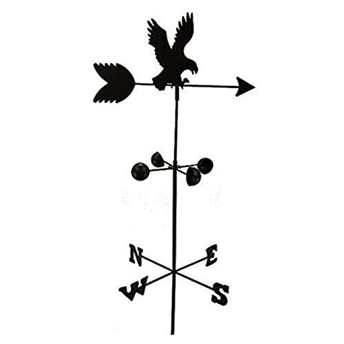 WSZMD Hierro Forjado Iron Eagle Tiempo Vane-Villa Jardín Jardinería Techo Decoración Adornos,Eagle