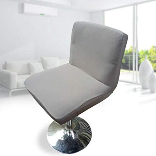 XCVB Krukhoes Elastisch rekbaar meubilair Barkruk Stoelhoes Hoes waterdicht, grijs