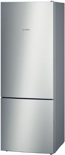 Bosch Serie 4 KGV58VL31S Libera installazione 500L A++ Acciaio inossidabile frigorifero con congelatore