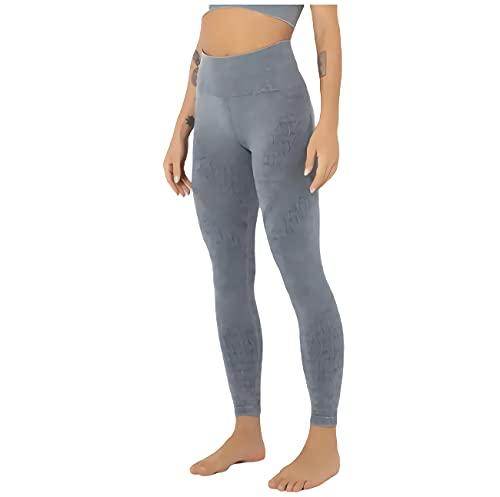 sdawa Leggings de Cintura Alta con Control de Abdomen, Mallas para Correr con Bolsillos, Gimnasio Deportivo sin Costuras para Mujeres