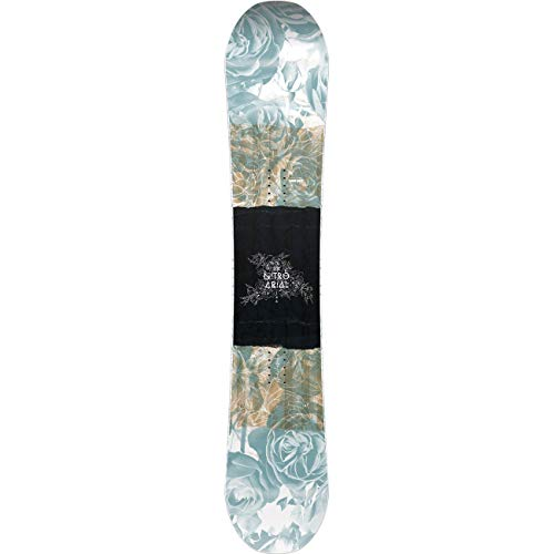 Nitro Snowboards Mädchen Arial BRD'20 Camber Rocker Freestyle Park Jib-Stick Boards Snowboard, mehrfarbig, 146 cm