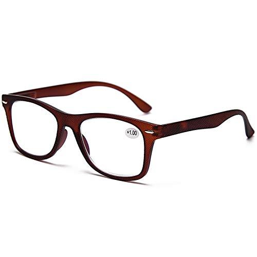GUAWJRZDP Gafas De Lectura para Computadora Lector De Luz Anti-Azul Gafas De Ayuda para La Visión Gafas Ópticas Antideslumbrantes Gafas para Juegos Herramientas De Lectura Fatiga Ocular