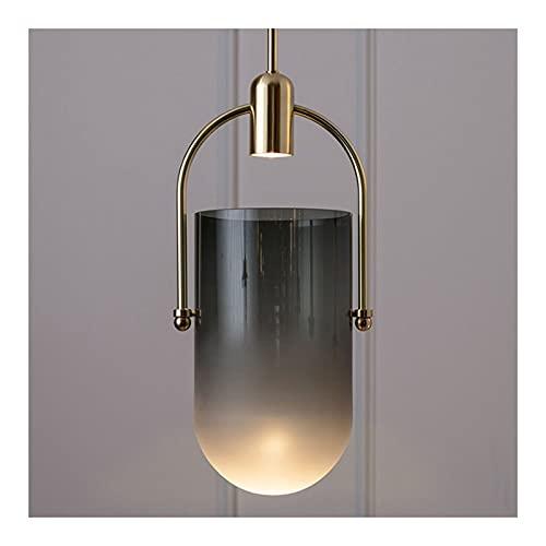 Lámparas de araña Araña, hierro forjado + pantalla de cristal Personalidad creativa...