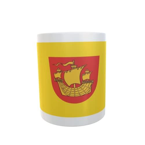 U24 Tasse Kaffeebecher Mug Cup Flagge Rerik