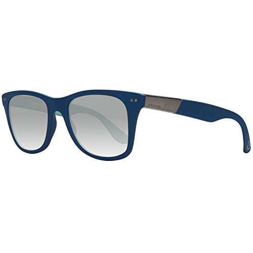 Diesel Sonnenbrille Dl0173 92c 52 Gafas de sol, Azul (Blau), 52.0 Unisex Adulto