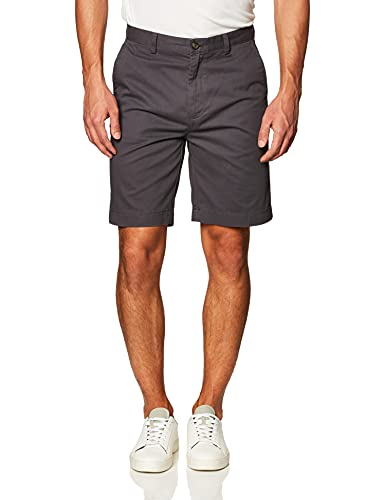 Amazon Essentials Men's Classic-Fit 9' Short, Grey, 34