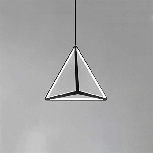 Vinteen American Country Chandelier Industrial Retro Attic Triangle Pendant Light Antique Wrought Iron Ceiling Hanging Lamp Bedroom Balcony Restaurant Retro Adjustment Line (Color : Warm light)