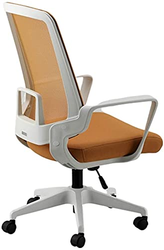 MUZIDP Office Computer Chair Office computer chair Mesh Swivel Chair, Lifting Company Computer Chair Office Staff 360° Stool Nylon Back Frame With Headrest Five-star Foot Swivel Chair, 10