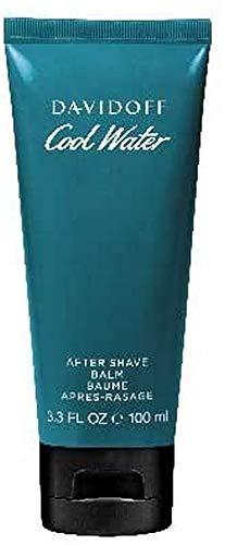 DAVIDOFF Cool Water Man After Shave Balm, aromatisch-frischer Herrenduft, pflegt und kühlt nach der Rasur, 100 ml