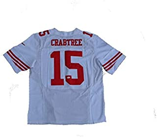 Michael Crabtree Autographed Signed San Francisco 49Ers White Jersey JSA