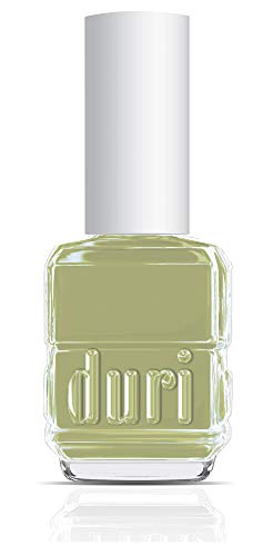 Duri Nail Polish, 720 Barefoot, Green Creamy Pastels Lacquers Opaque Coverage, 0.5 Fl Oz