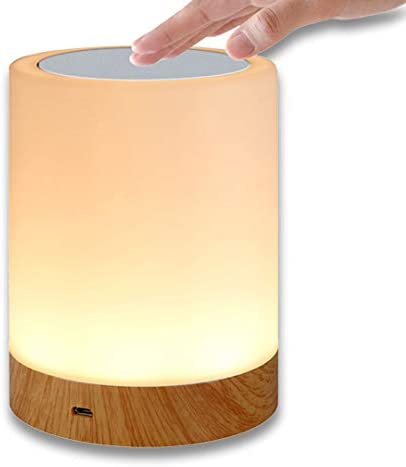 Night Light HEDELE Touch Lamp for Bedrooms Living Room Portable Table Bedside Lamps with Rechargeable product image
