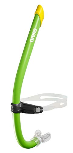 ARENA Tubo Swim Snorkel Pro III esnórquel, Adultos Unisex, Acid Lime (Verde), Talla Única