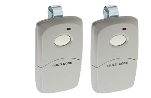 2 Pack 3089 Linear Multi-Code Remote Transmitter Gate Garage Opener Brand New