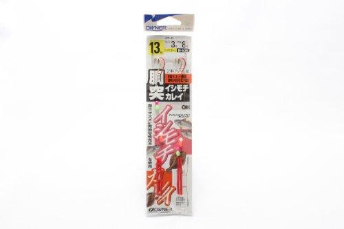 オーナー針 胴突イシモチ・カレイ 鈎13/ハリス3 N-638