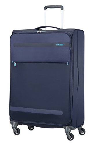 American Tourister Maleta, 74 cm, 95 Litros, Color Azul