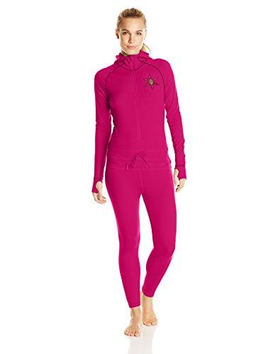 AIRBLASTER Damen Merino Base Layer Ninja Anzug, Damen, Beere