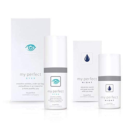 My Perfect Cosmetics Eyes 200 Applications with Night cream, 1er Pack(1 x 205 grams)