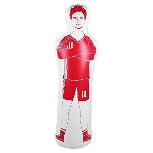FOLOSAFENAR Maniquí de fútbol con Vaso de PVC, Respetuoso con el Medio Ambiente para la Pared de Entrenamiento de fútbol y Baloncesto(Red)