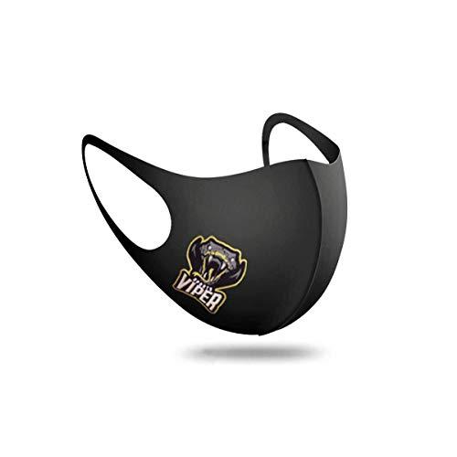 5er Pack | Vipersports Mund und Nasenschutz, Mundschutz Maske Waschbar | Atmungsaktive Sportmaske | Schlicht und enganliegend