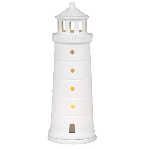 Räder Meer als Worte - Leuchtturm