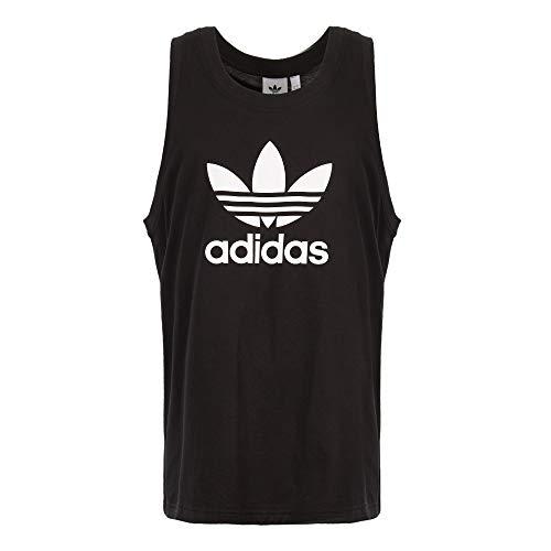 adidas Originals Trefoil TNK T Camiseta sin Mangas, Hombre, Negro (Black), M