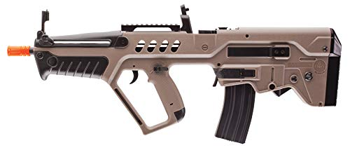 IWI Tavor AEG 6mm BB Rifle Airsoft Gun, Dark Earth Brown, Tavor 21 (Competition Series)