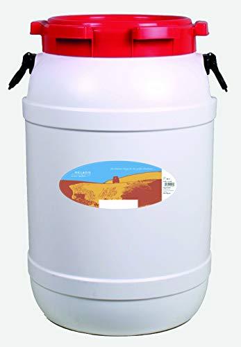 Relags Weithalsbehälter Weithalstonne Gepäcktonne rund 68.5L, 68,5 Liter, Höhe ca.63cm, Durchm. 41cm, Halsdurchm. 28.2cm