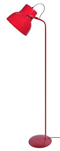 Tosel 95065 Cloche, Acier, 150 W, Rouge, 29 x 29 x 150 cm