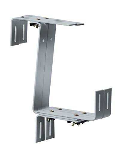 Windhager–Porta fioriere stabile, 22x 17cm, zincata, argento