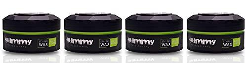 Fonex Gummy Styling Wax Matte Finish 150 ml (4er Set)