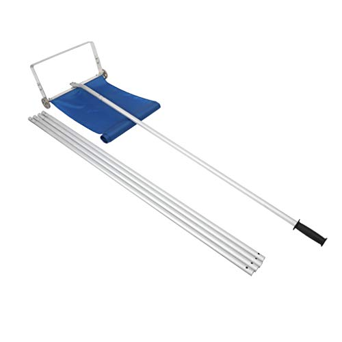 Read About XXMM Roof Snow Removal Tool | 20 Ft. Extended Reach Lightweight Oblong Shape Taxiing Devi...