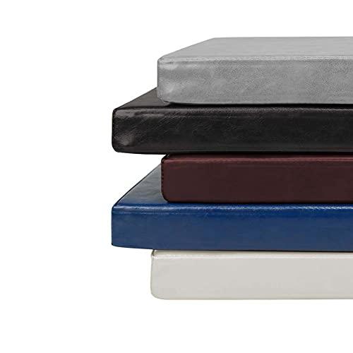 Tappetino da pranzo extra lungo per esterni, 100 cm/150 cm/200 cm in finta pelle per mobili, antiscivolo, impermeabile, per terrazza e panca
