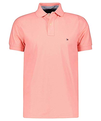 Tommy Hilfiger Herren 10766 Polo Shirt, Rose, M