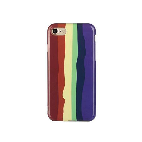 Funda suave para iPhone 12 Pro Max 12 Mini 11 Pro Max 8 Plus 7 Plus 6S Plus X XS Max XR SE 2020 Cubierta trasera E-para iPhone 11