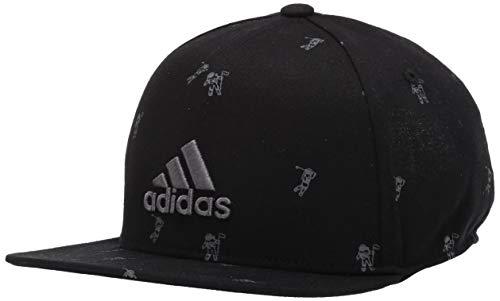 adidas Golf Flat Brim Hat, Black, OSF