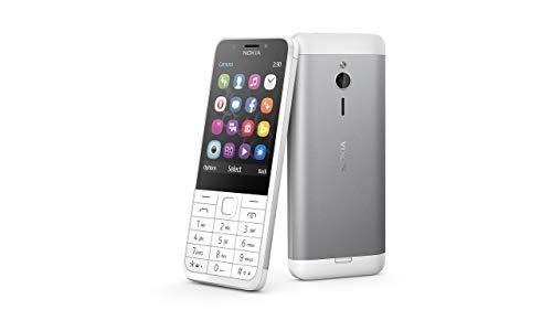 Nokia 230 Dual-SIM weiß / silber - offen für alle Netze