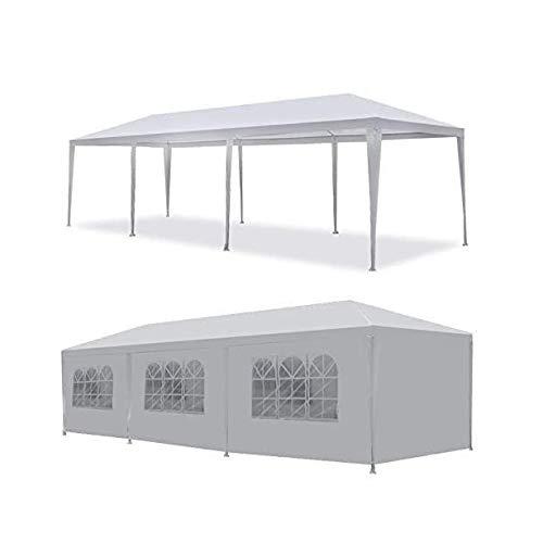 WSN Hochzeit im Freien Partyzelt, Camping Shelter Gazebo, Überdachung mit abnehmbaren Seitenwänden Easy Setup Gazebo Grill Pavilion