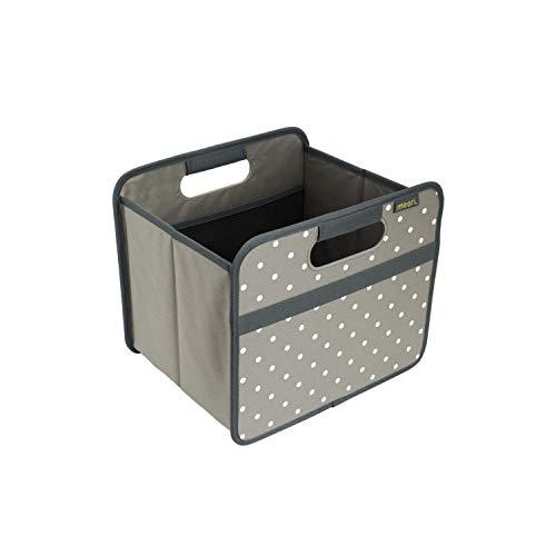 Meori A100030 Boîte Pliante, Polyester, Grau/Punkte
