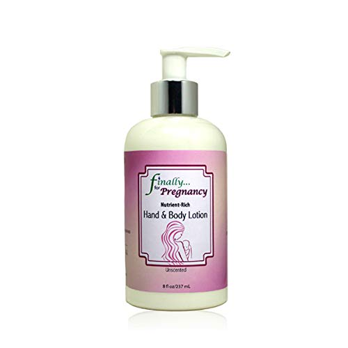 Finally Pure - Unscented Hand & Body Lotion for Pregnancy - 8 fl oz
