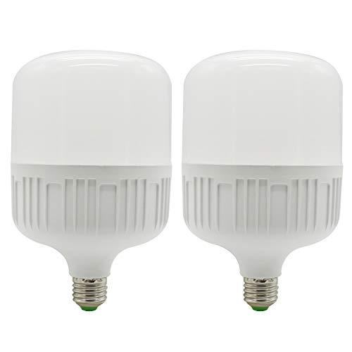 Mininono Lampadina LED E27, 30W (equivalenti a 300W), Bianco Caldo 3000k- Pacco da 2