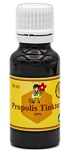 ImkereiBeck® 2 x 20ml Propolis Lösung mit 20% natürlichem Propolis Extrakt in Imkerqualität (2 x 20ml - 20%)