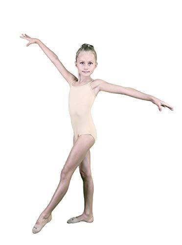 bernit Ragazze Ginnastica Jersey da Ballo | Body Senza Maniche | Abbigliamento da Danza | sotto Body | Altezza del Corpo 111-120 cm